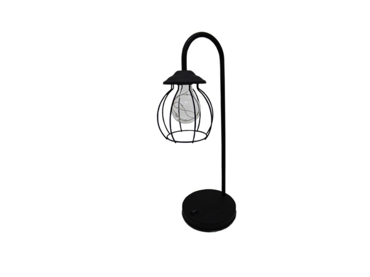 Luminaria de Mesa Abajur Led 41cm