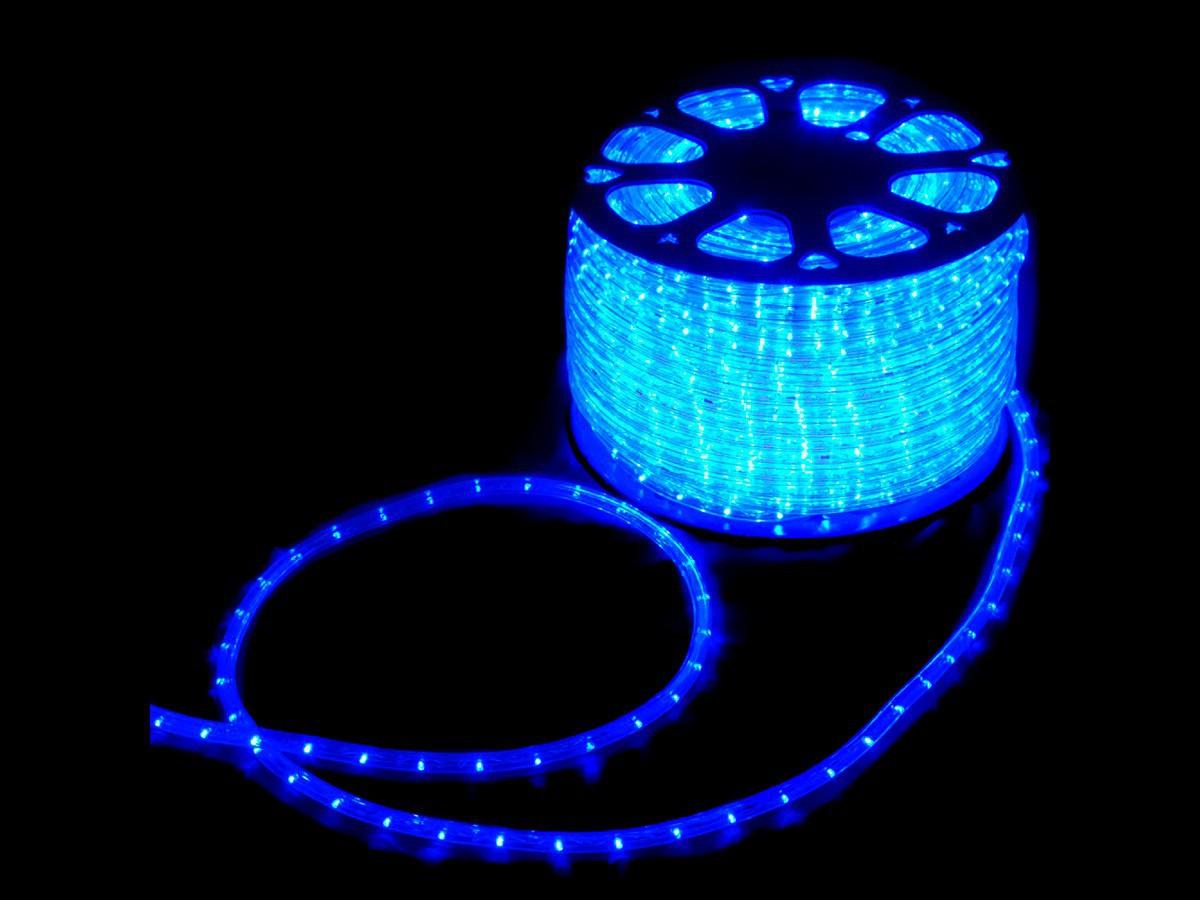 Mangueira Led Alto Brilho Decoração Natal 3600 LEDs 13mm Azul