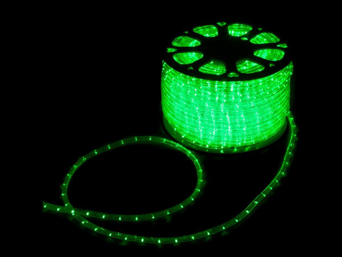 Mangueira Led Alto Brilho Decoração Natal 3600 LEDs 13mm Verde