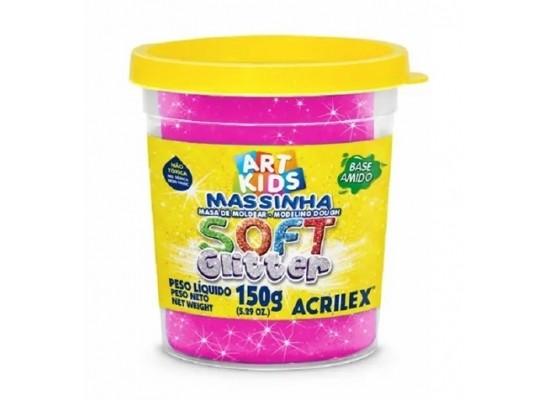 Massa Modelar Soft Glitter 150G Maravilha