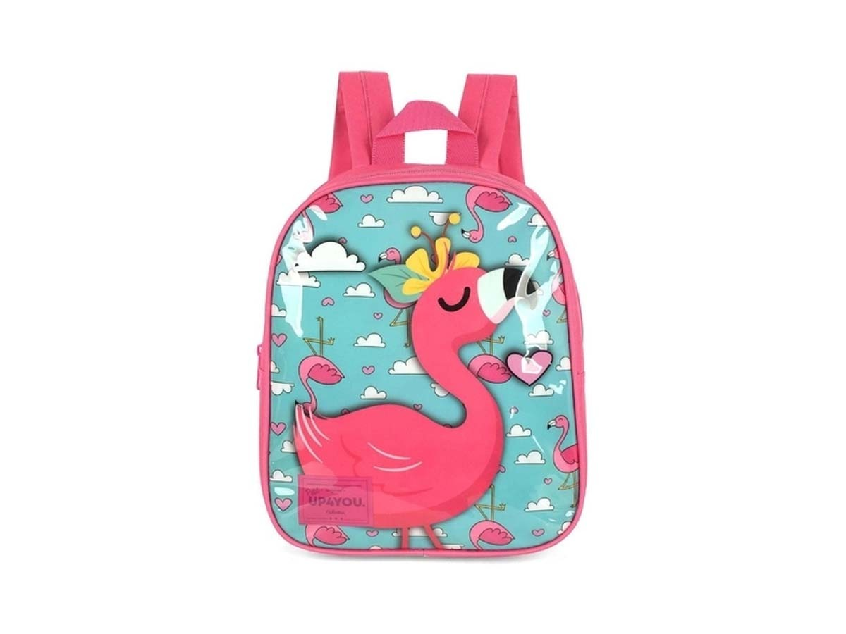 Mini mochila escolar infantil YP4YOU - Petit Flamingo