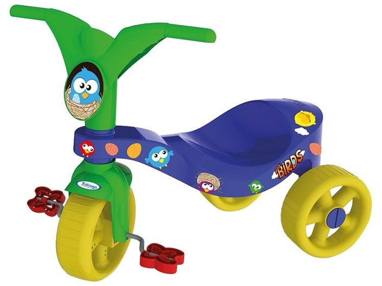 Mini Triciclo Infantil Pop Birds Xalingo
