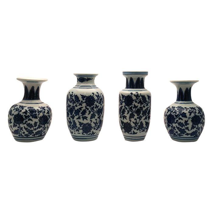 Mini Vaso De Ceramica Estampa Portuguesa