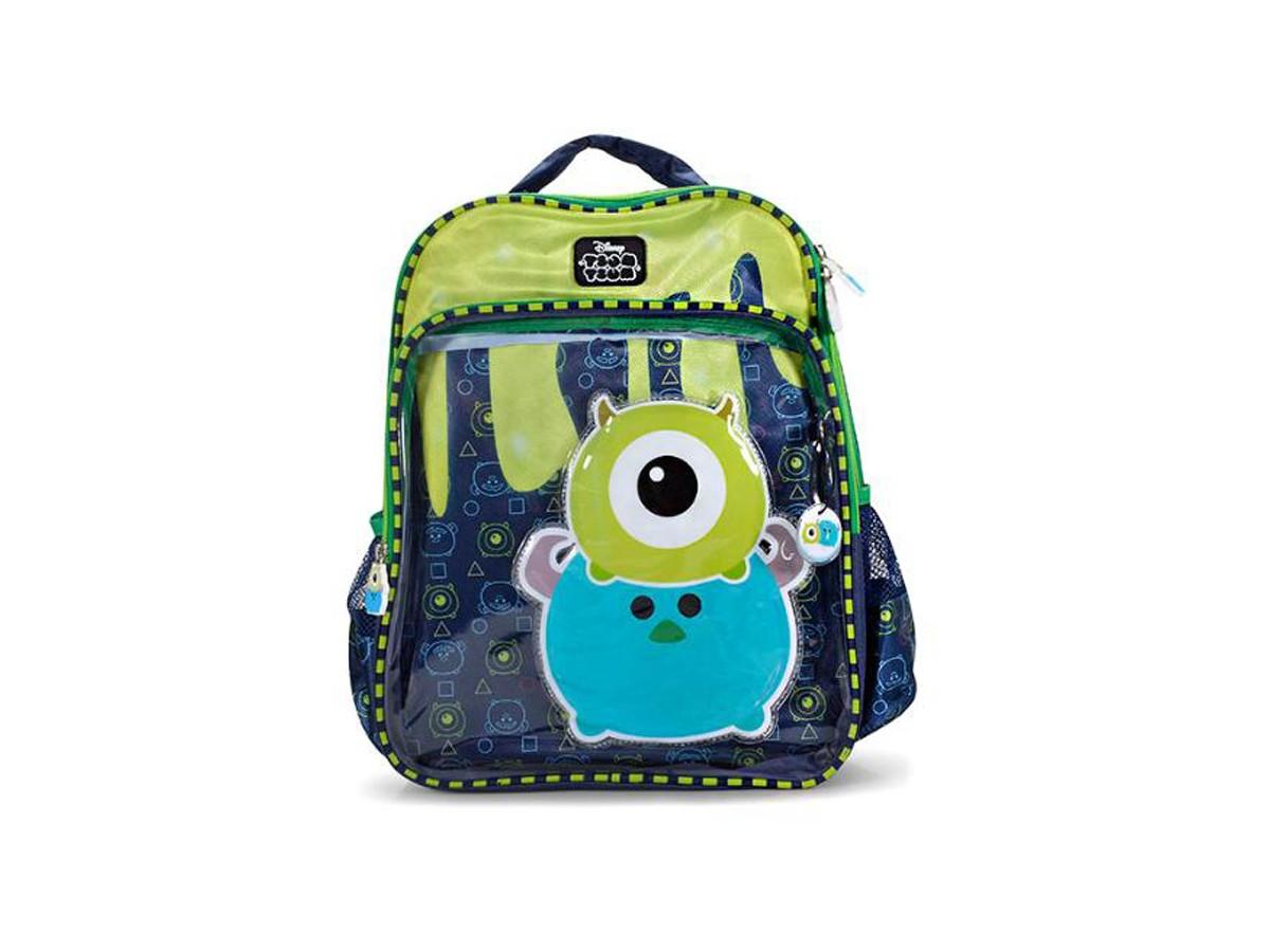 Mochila Escolar Infantil  Monstros S/A Tsum Tsum