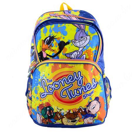Mochila Infantil Looney Tunes Azul