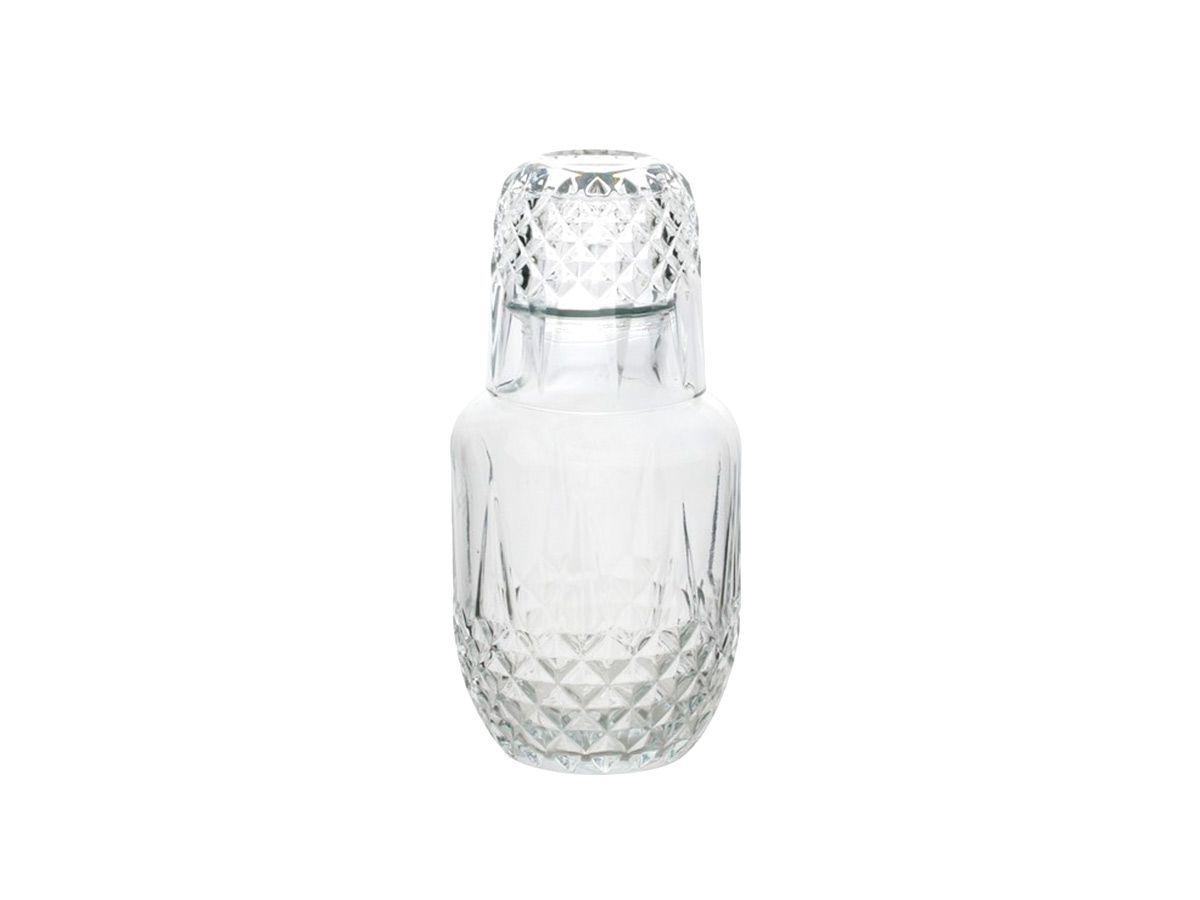 Moringa de vidro Diamante 500 ml/ 145ml