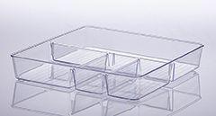 Organizador Diamond Com Divisórias 31 X 31 X 5Cm