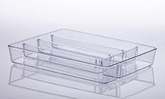Organizador Diamond Com Divisórias 36 X 28 X 5Cm