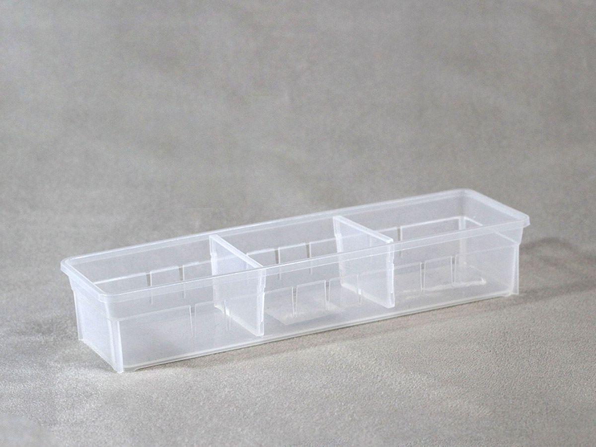 Organizador Empilhavel c/ Divisoria Movel 27X8X5 cm