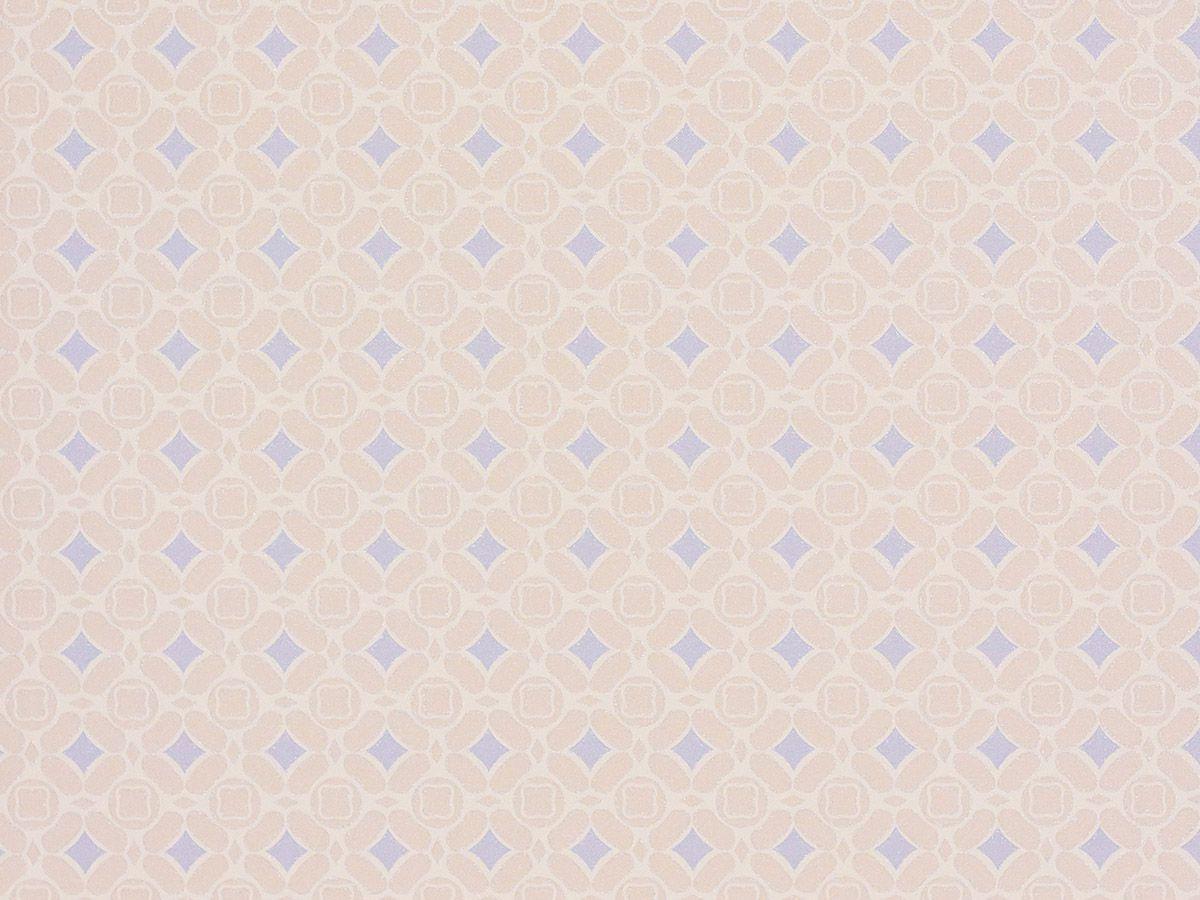 Papel De Parede Liso Ladrilhos Cinza Bege E Azul 3D - 1053