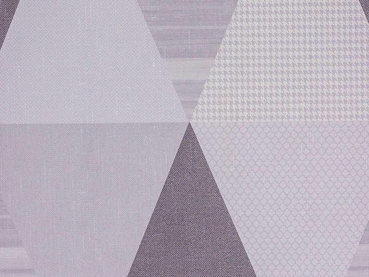 Papel De Parede Liso Triangulos Cinza Escuro E Claro - 371803