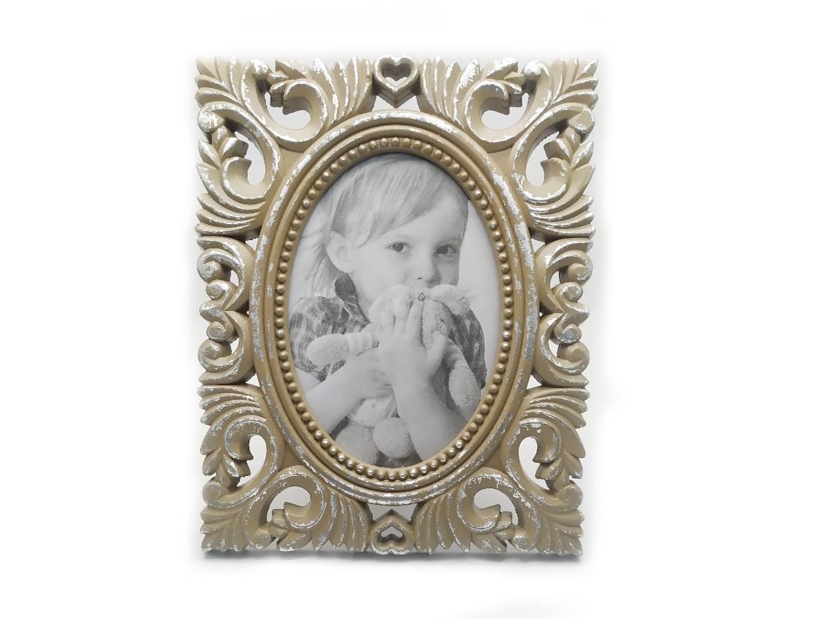 Porta Retrato em MDF envelhecido - 20 x 25 cm
