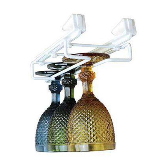 Porta Taças Ajustável Para Armário 13245 - Aço Termoplastificado