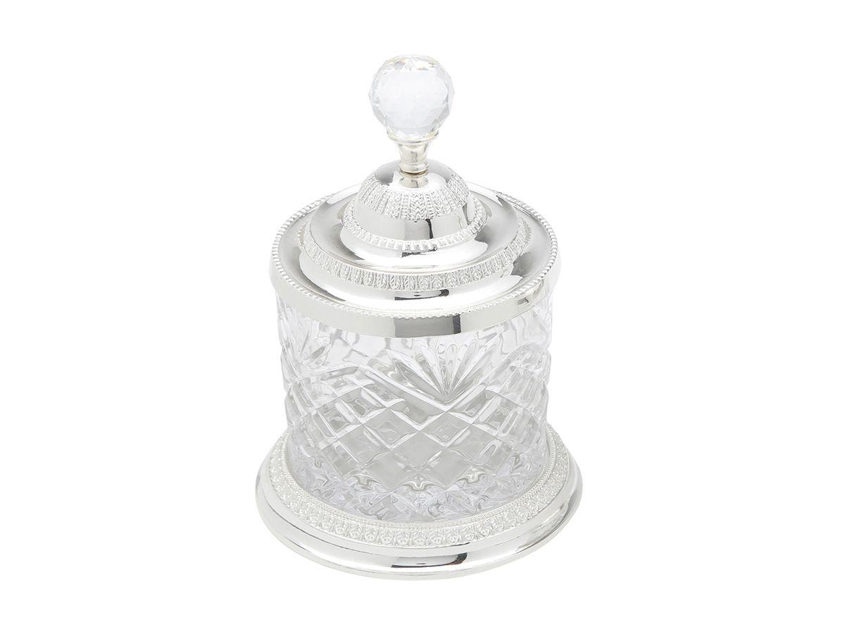 Pote Multiuso Zamac Cristal 18,6cm