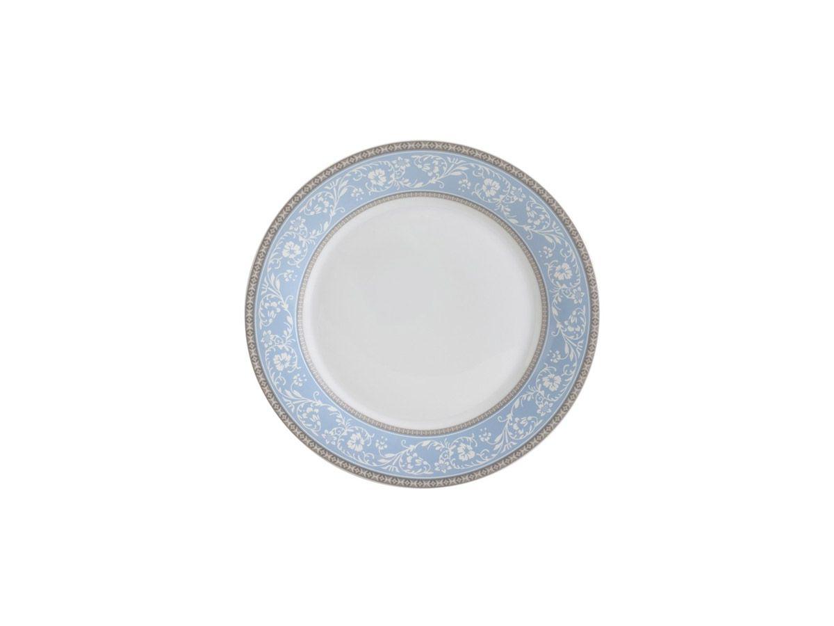 Prato para sobremesa em Porcelana Super White Garden 19cm