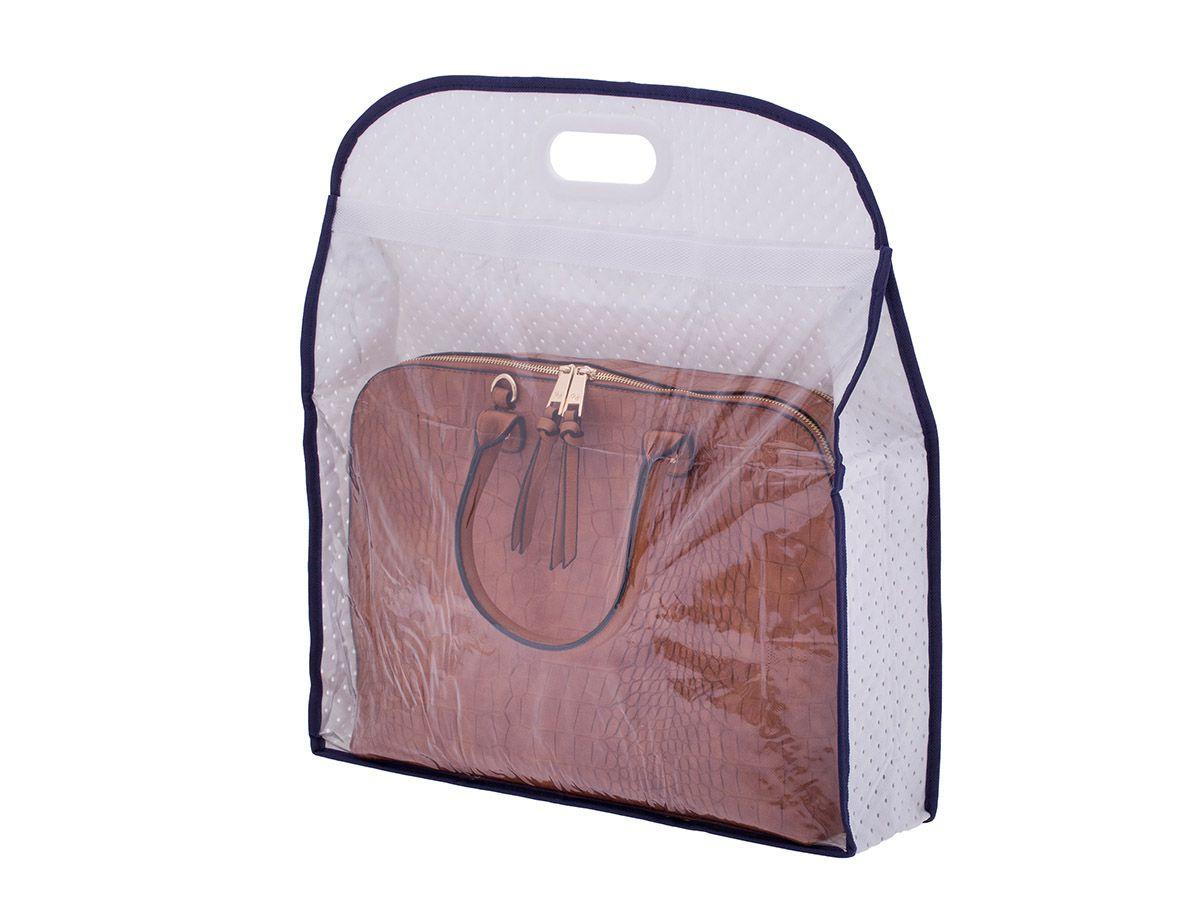 Protetor para bolsas TNT com alça - 47 x 12 x 51 cm