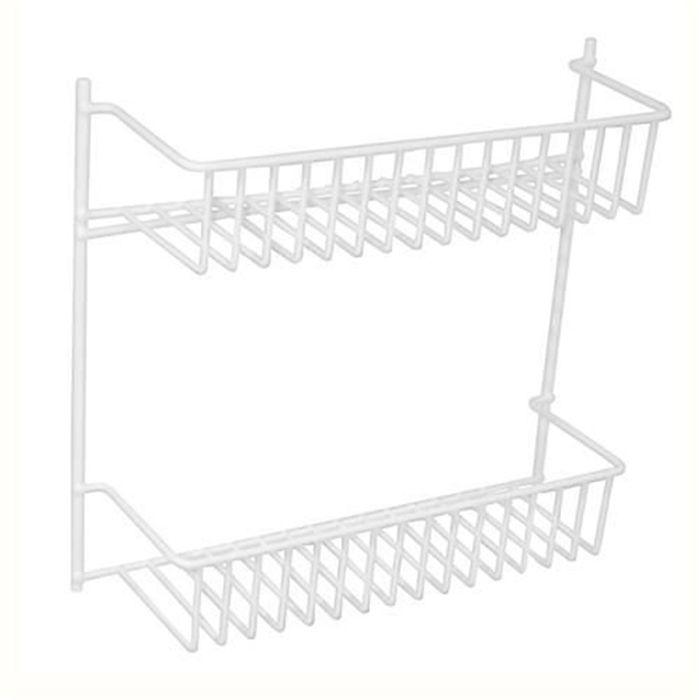 Suporte Duplo Para Fixar Metaltru 1404-26 Aço Termoplastificado