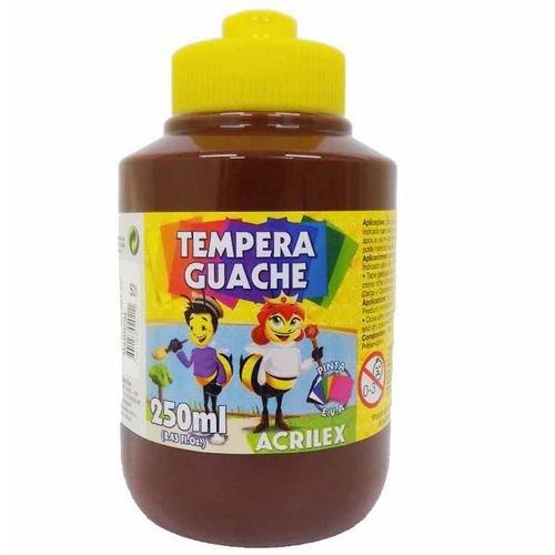 Tinta Guache 250Ml Marrom