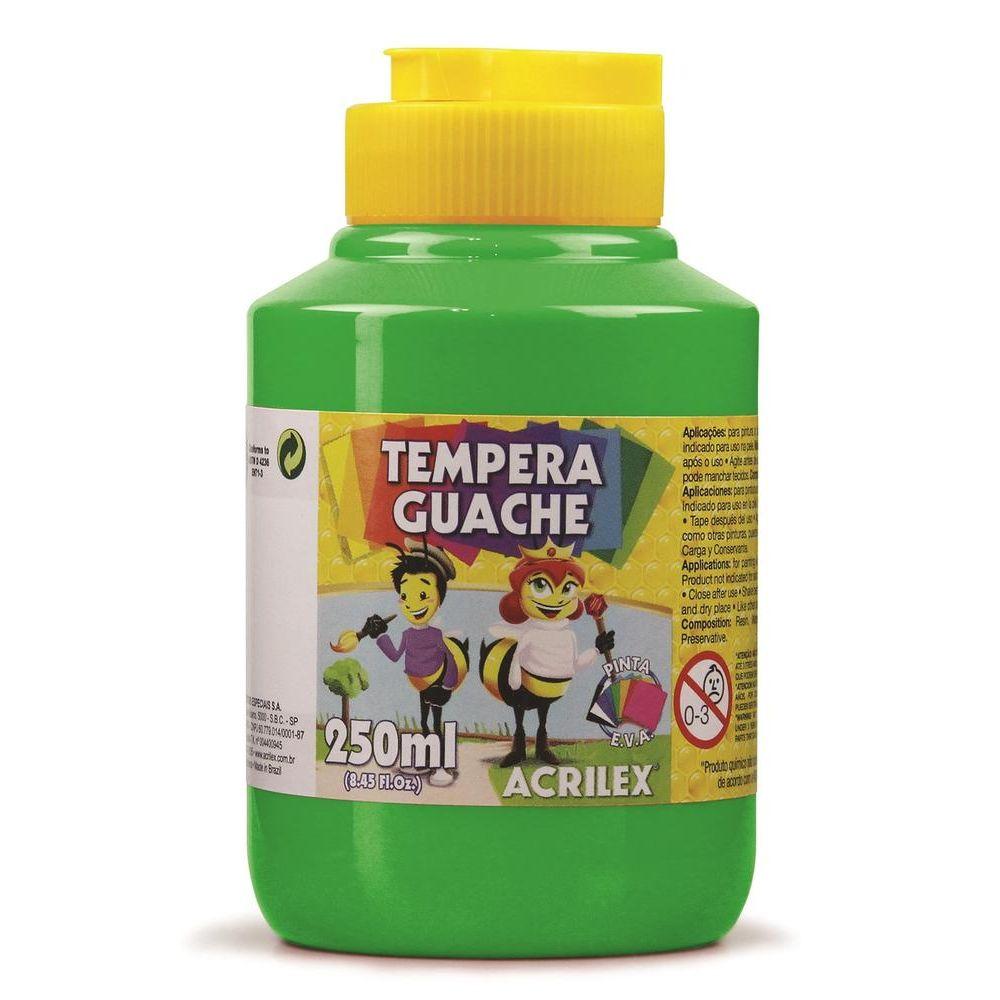 Tinta Guache 250Ml Verde Folha