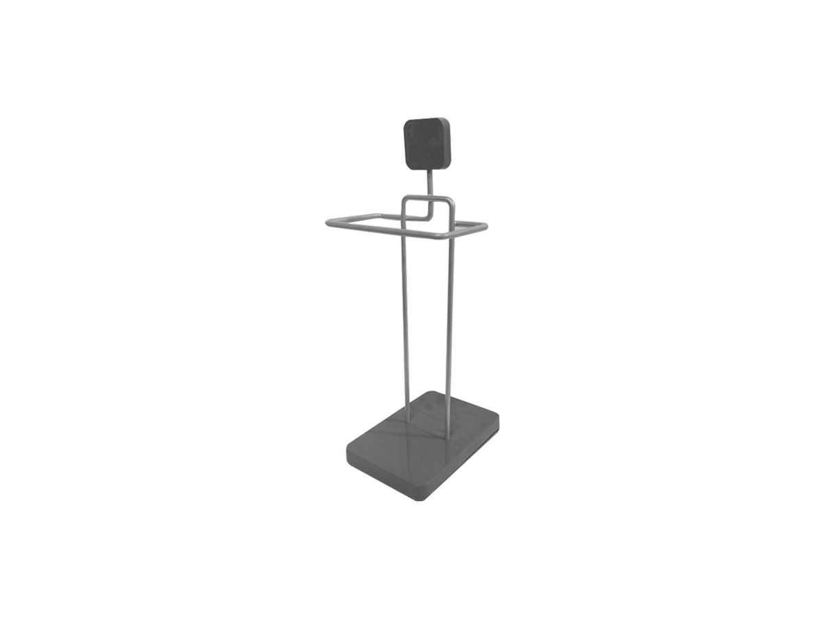 Toalheiro Metal Prata - 15,5 x 39 x 18 cm