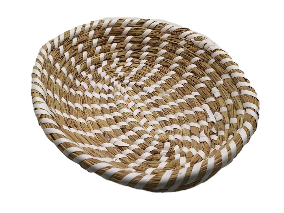 Travessa Oval em Palha grande - 29,5 x 24 cm
