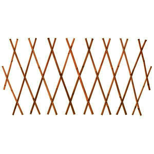 Treliça em Madeira Sanfonada 1,2x1,8 cm