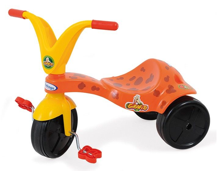 Triciclo Girafito Com Adesivos Para Decorar - Xalingo