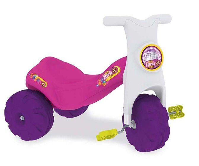 Triciclo New Turbo Rosa Xalingo