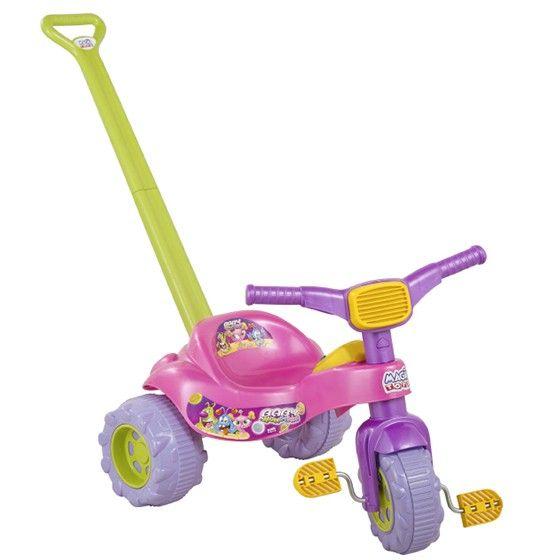 Triciclo Tico Tico Monster Com Som Magic Toys - Rosa