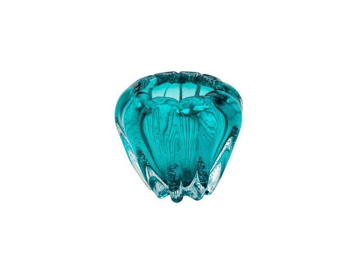Vaso De Vidro Italy Tiffany 16X14 cm