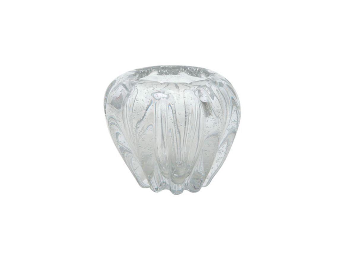 Vaso De Vidro Italy Transparente 16X14 cm