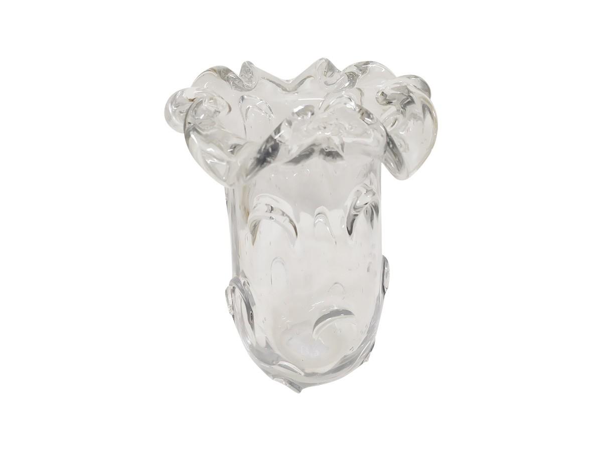 Vaso De Vidro Italy Transparente 19X24 cm