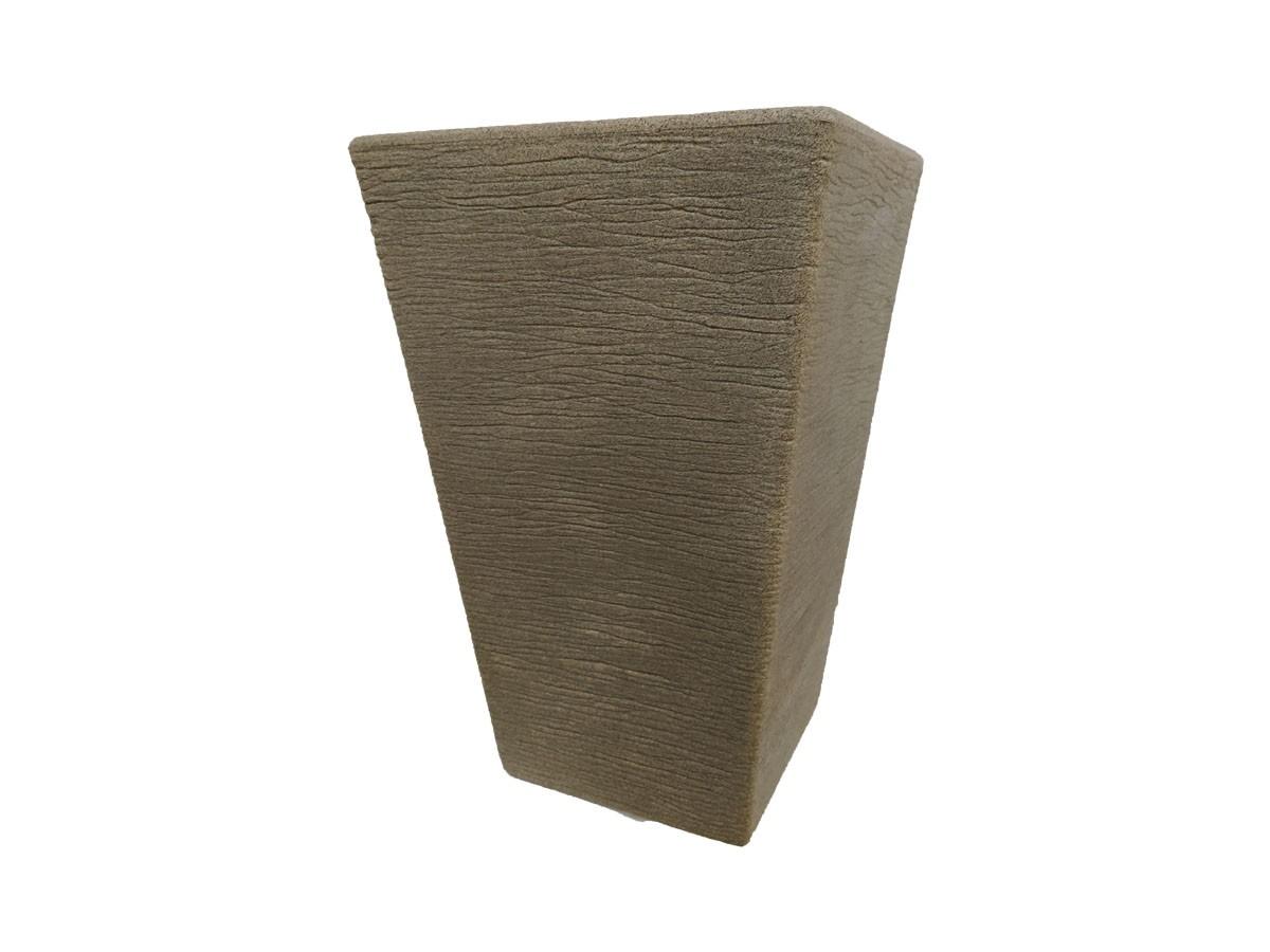 Vaso Rotomoldado Terra Trapézio Granito Pedra 40 x 60 cm