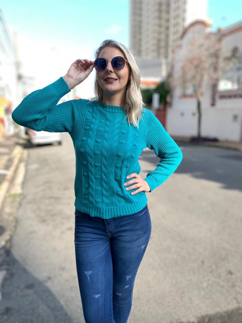 Blusa tricot Stefanie