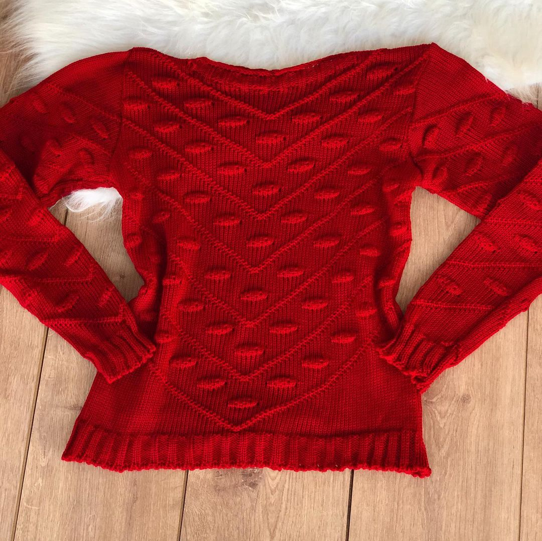 Blusa tricot Thainá