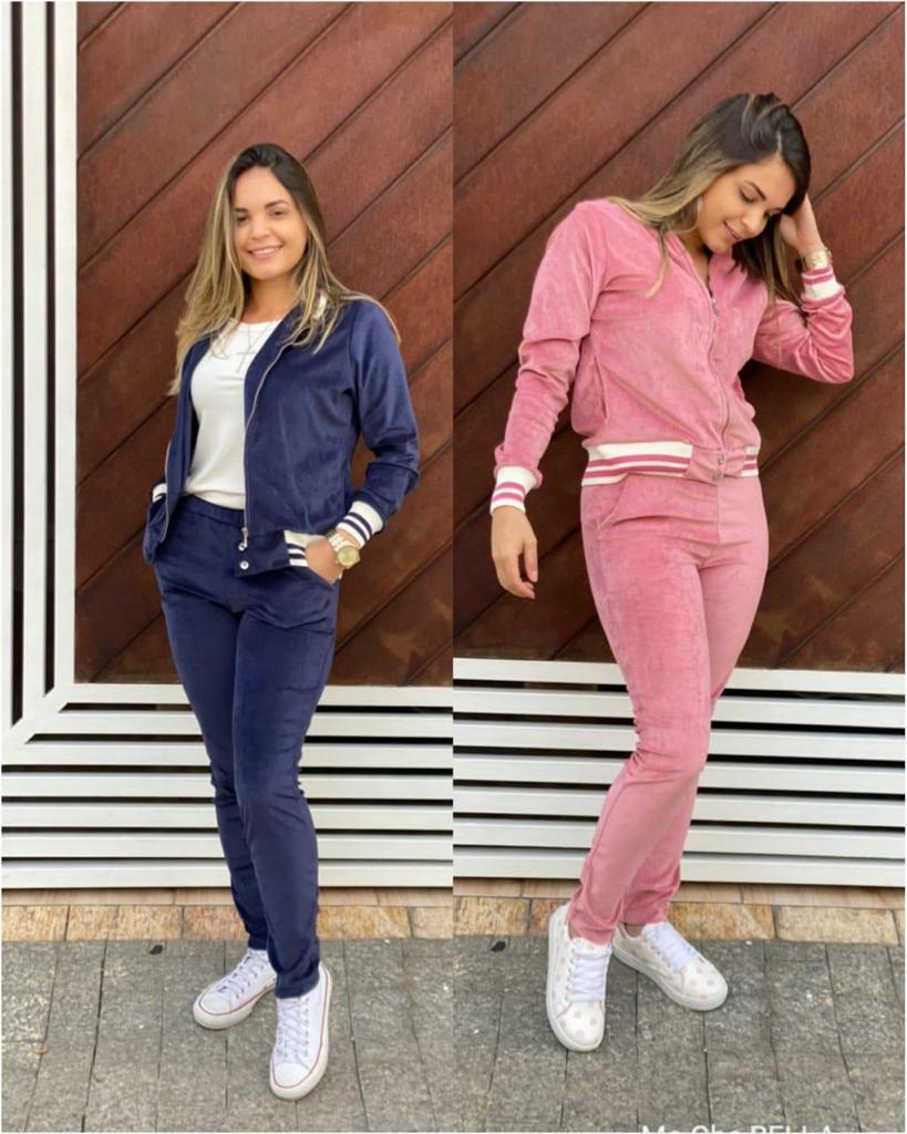 Conjunto de plusb c/ jaqueta Vitória