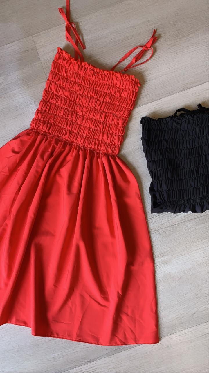 Vestido lastex básico