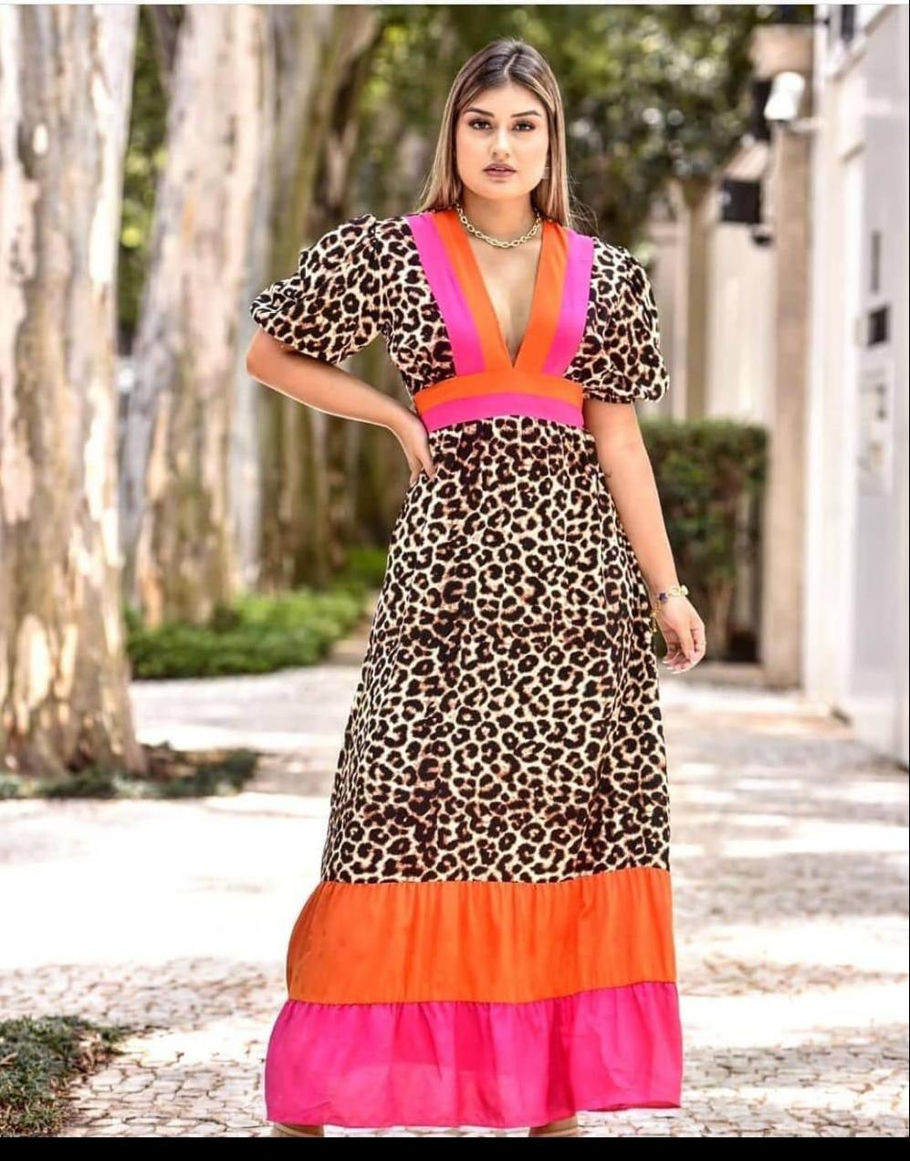 Vestido longo Antonela