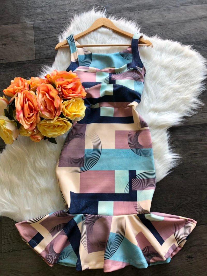 Vestido midi Lorena