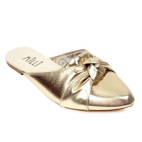 Mule Milli dourado
