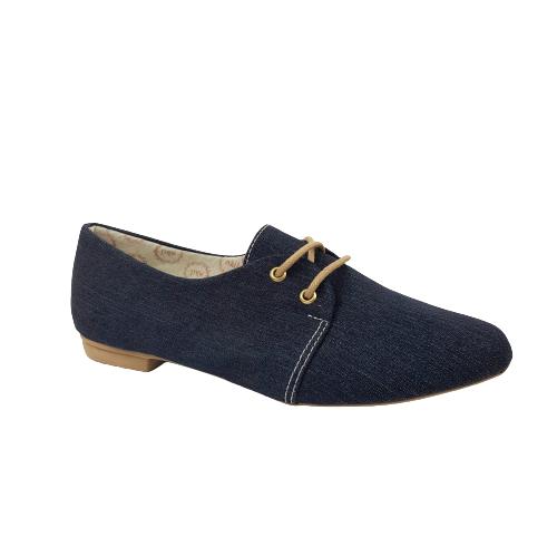 Oxford Milli Jeans Com Cadarço
