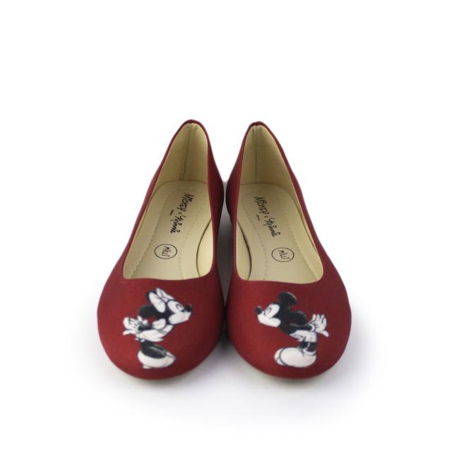 Sapatilha Disney Mickey e Minnie Vermelha