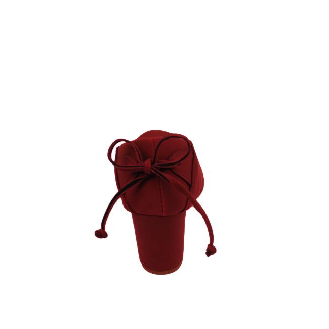 Sapato Milli Nobuck Bordô