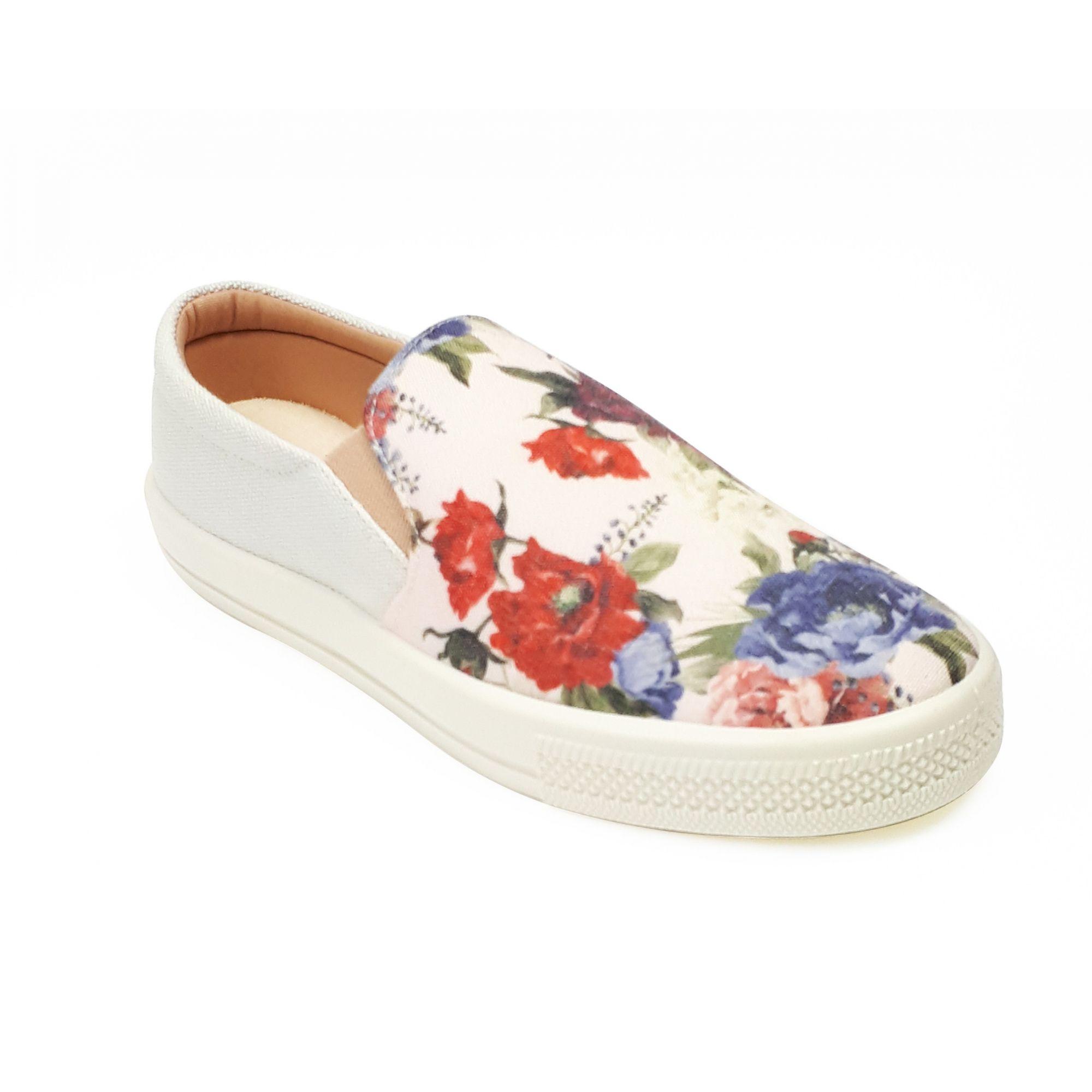 Tênis Milli slip on floral