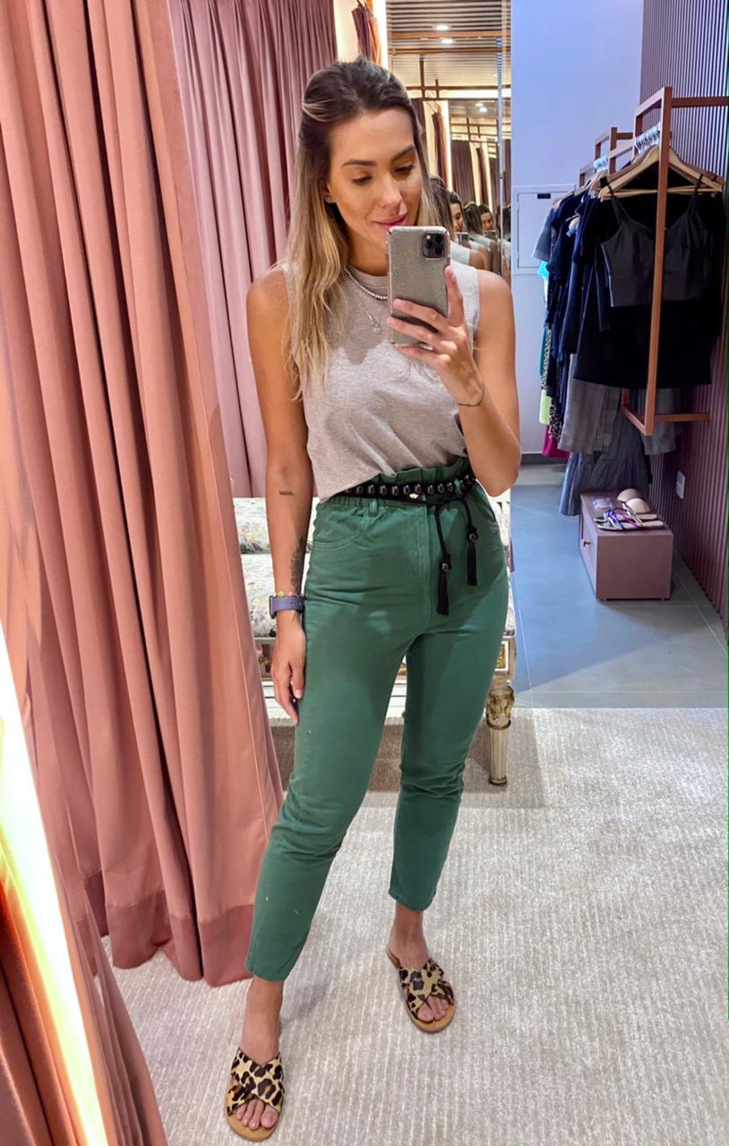Calça Colors Sarja