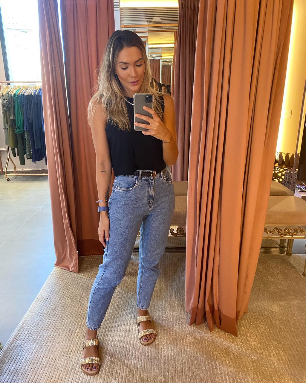Calça Jeans 100% Algodão