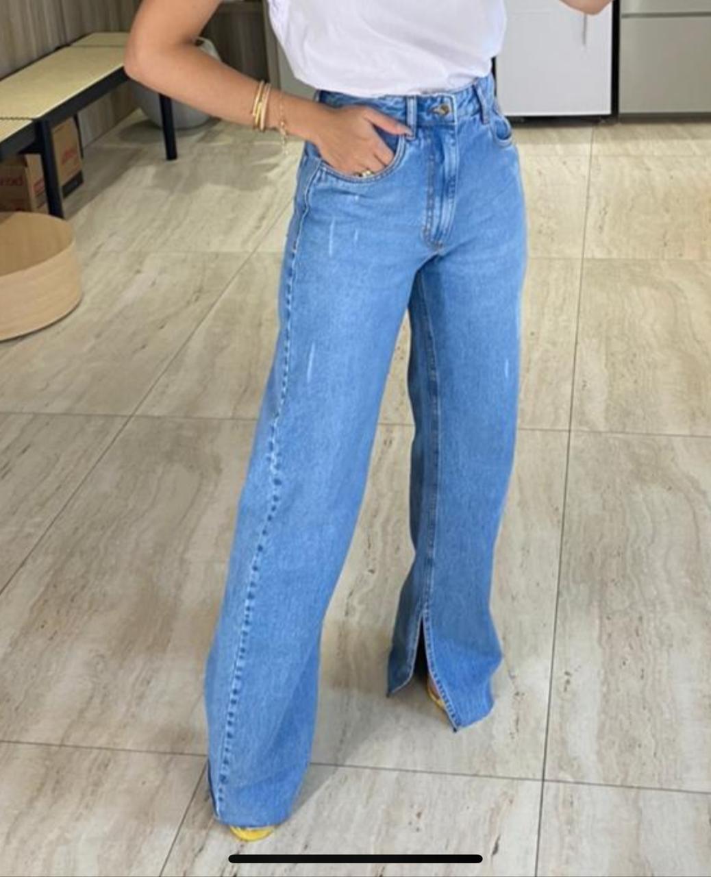 Calça Jeans Lisa 100% Algodão