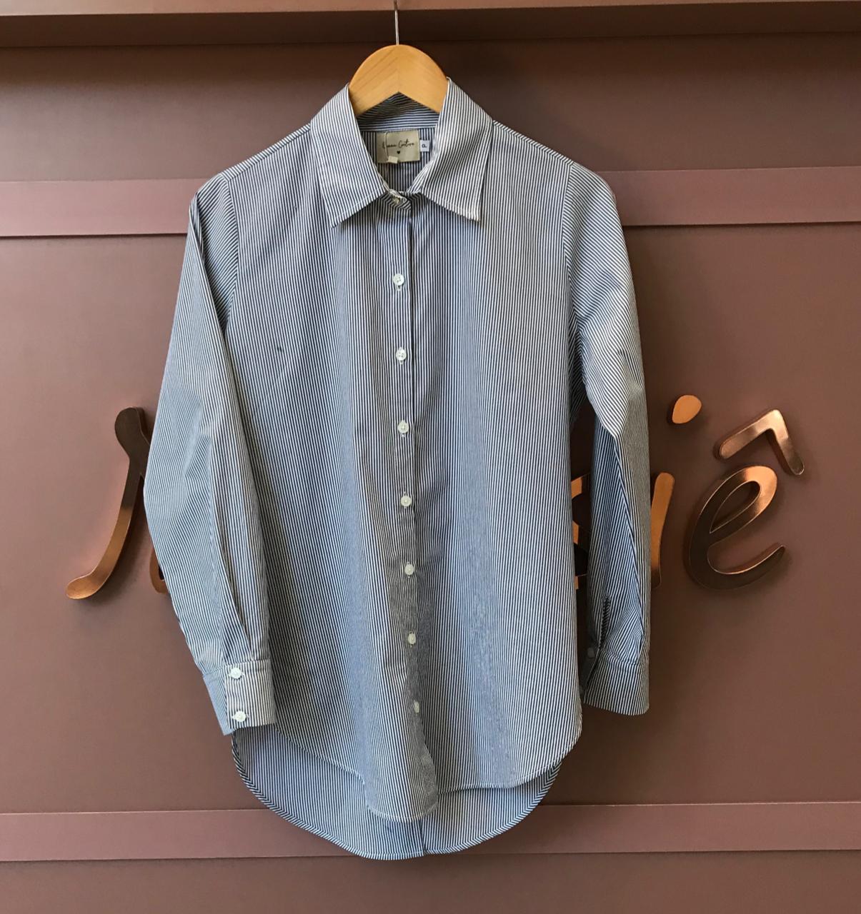 Camisa Tricoline Listra