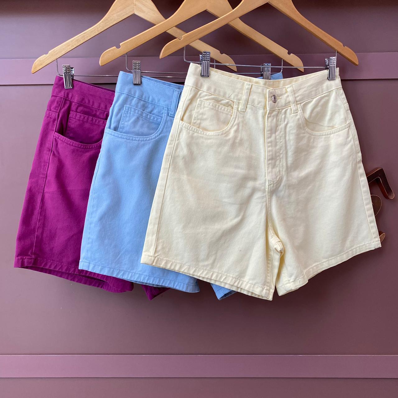 Short Jeans Colors - Esmeral