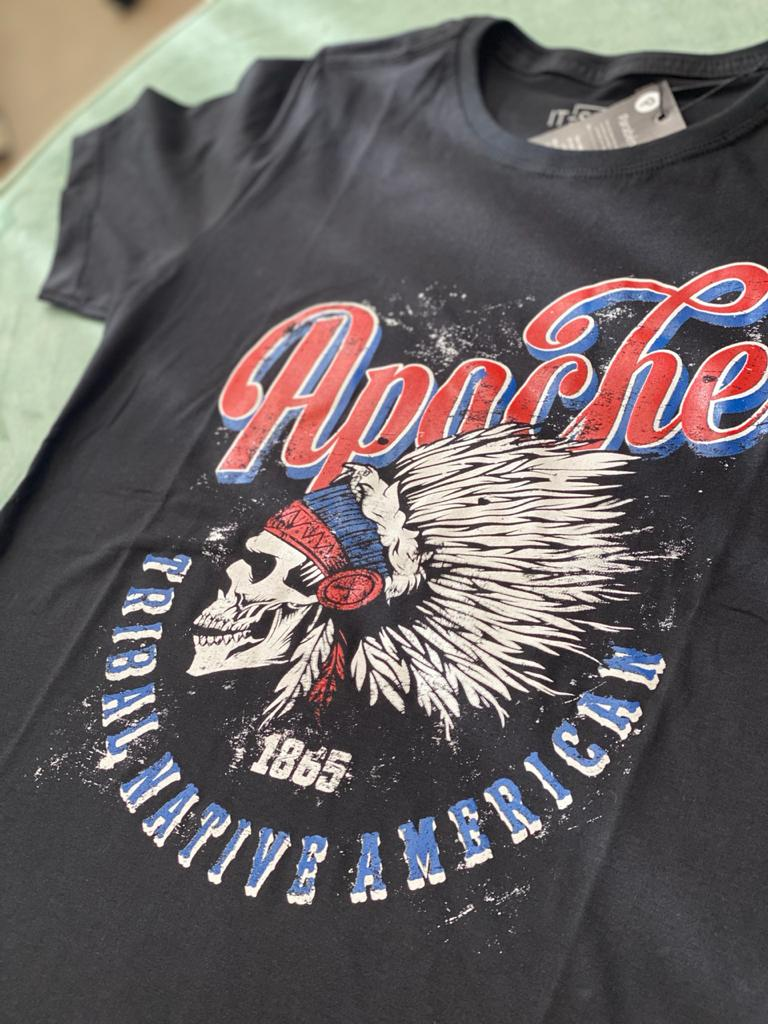 T-shirt Apache 100% Algodão